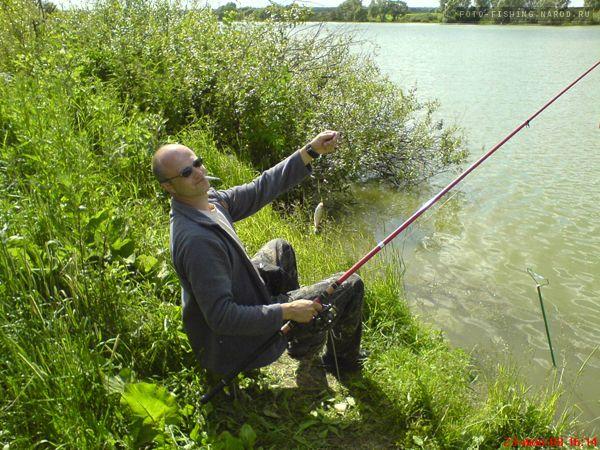фотографии с рыболовом